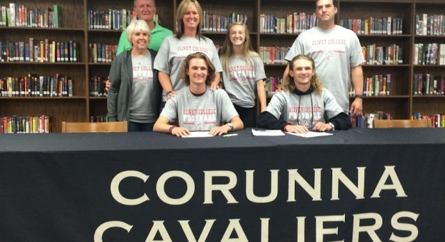 Corey and Spencer Mort commit to Olivet