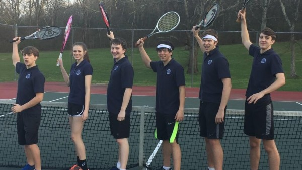 First Tennis Match Ready to play