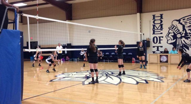 Madison Academy Girls Varsity Volleyball beat Pleasant View Christian 3-2