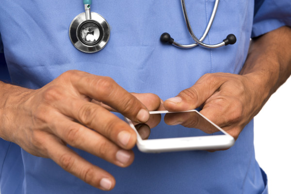 Physician Texting