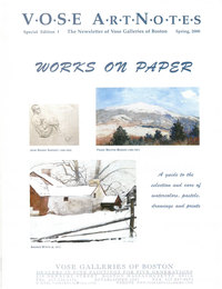 Artnotes special edition works on paper
