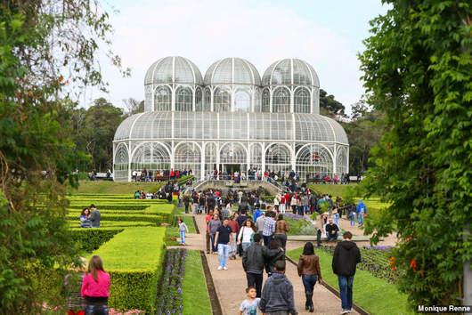 Jardim-botanico-de-curitiba