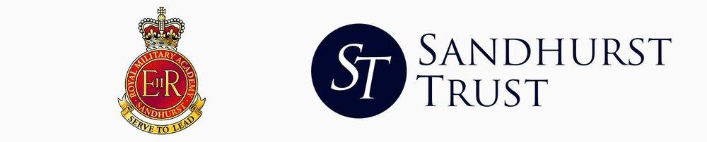 Sandhurst Trust double logo