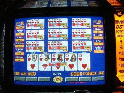 jackpot aces video poker