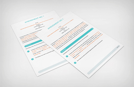 Web Design Contract Amendment Template