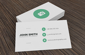 Business Card Mockup PSD Pack