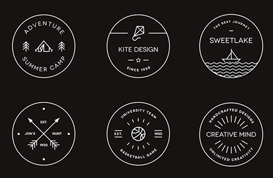 Creative Badge Logo Vectors