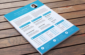 Modern Resume Vector Template Pack