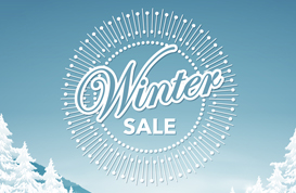 Winter Sale Landscape PSD