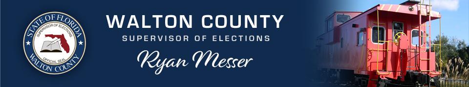 Walton County Supervisor of Elections, Bobby Beasley