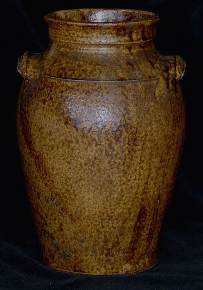 2-3 Gallon Storage Jar Rare Gold Color