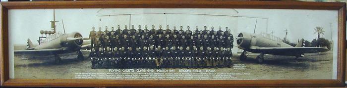 Brooks Field Cadet Panoramic Photo
