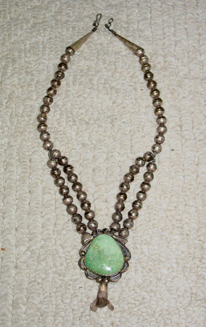 Squash Blossom Necklace Old Pawn