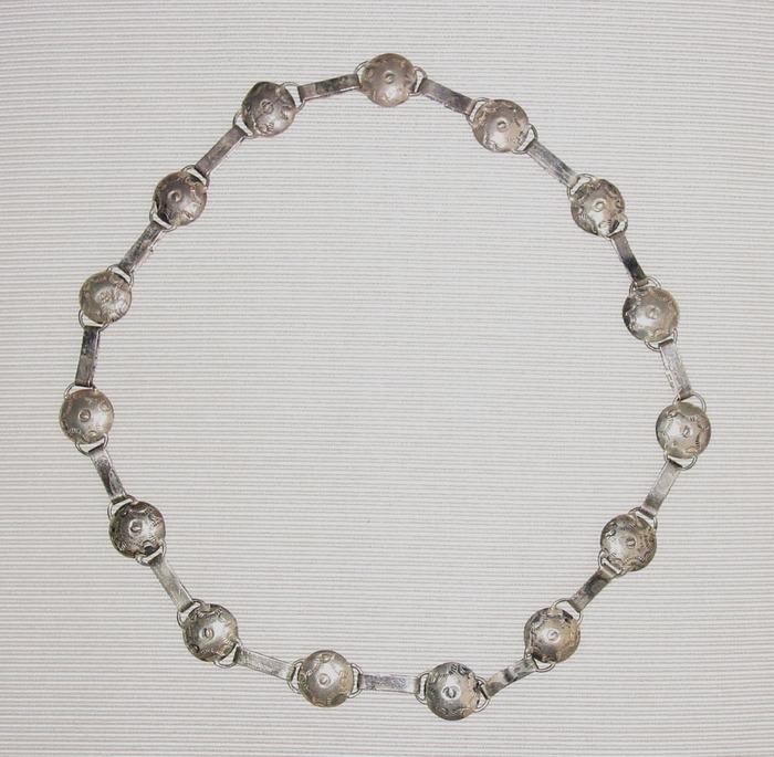Vintage Navajo Silver Belt