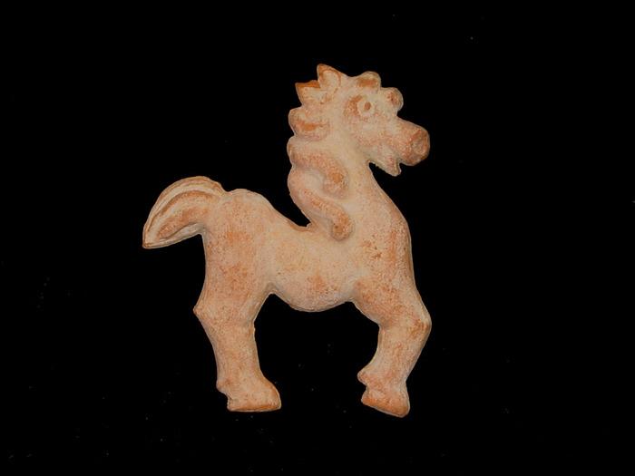 Early Flat Horse Sculpture