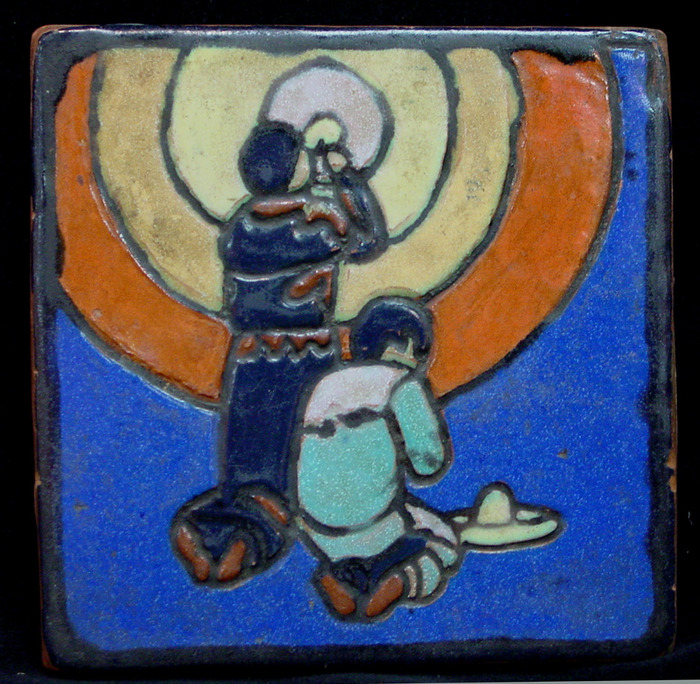 1946 Communion Prayer Tile