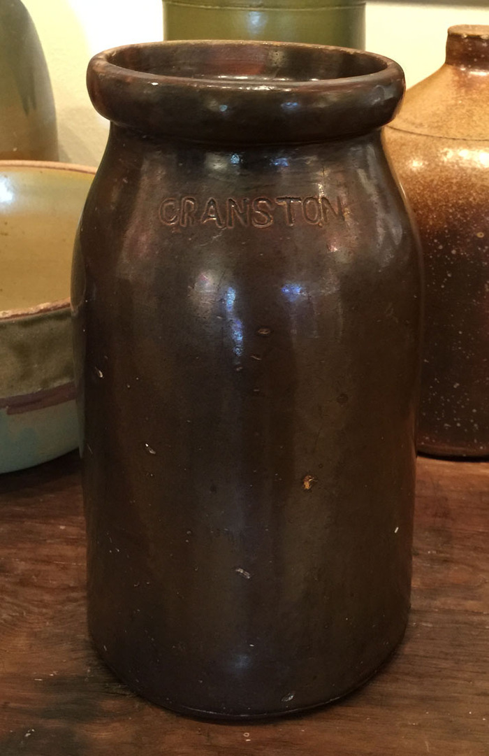 Signed Storage Jar Circa 1860