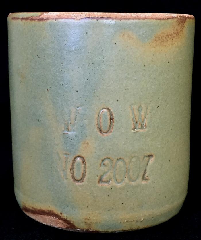 Mug signed WOW (Woodman of the World)   Circa 1920s