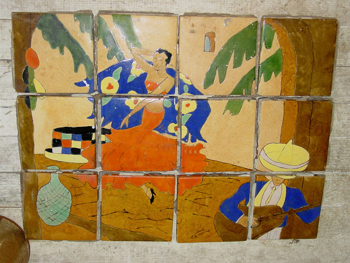 Loose Tiles for Table or Plaque