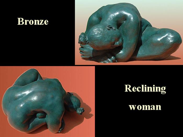"""Reclining Woman"""