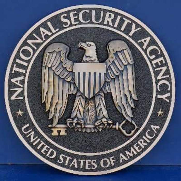 """NSA Seal""  National Security Agency"