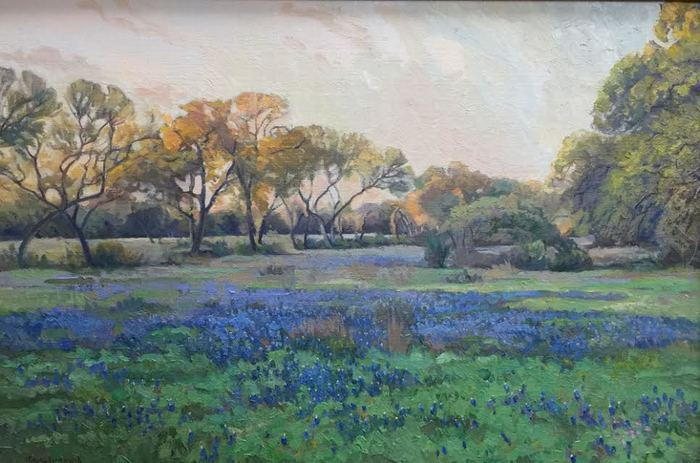 """Evening Bluebonnets"""