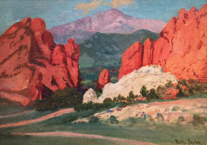 """Garden of the Gods/Pikes Peak"""