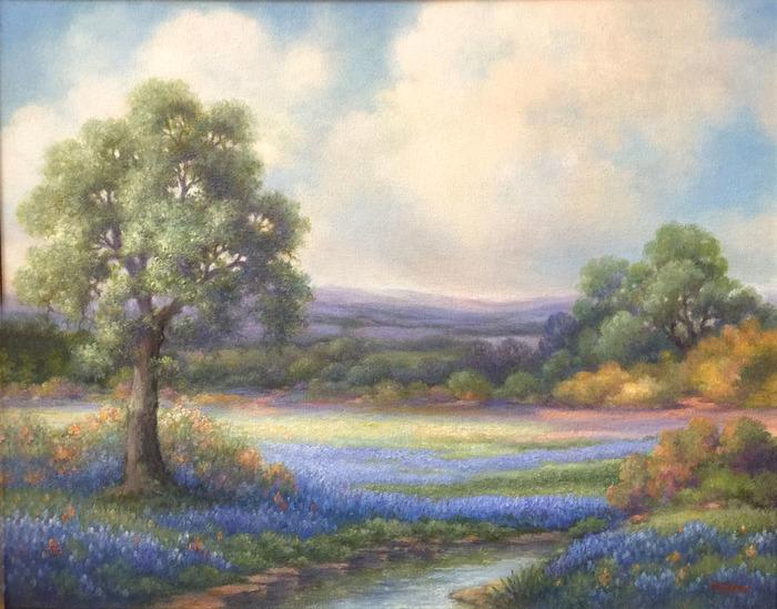 """Texas Spring Meadow"" Bluebonnet"