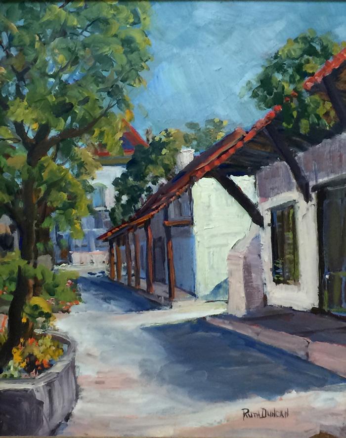 """""""On Guadalupe Street San Antonio La Villita"""""""