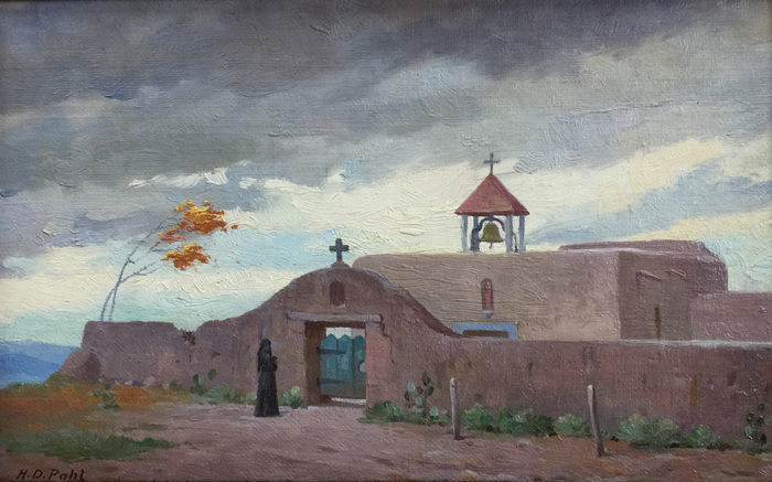 """A Mexican Church"" In New Mexico"