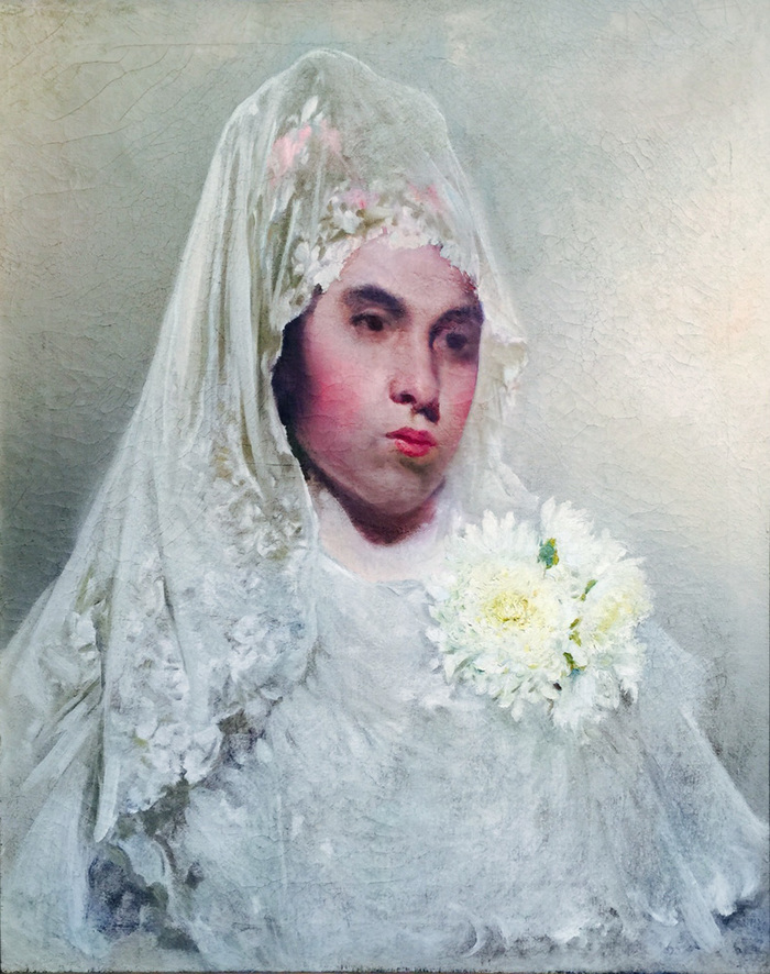 """Lady in Mantilla"" From the Robert Tobin Collection"