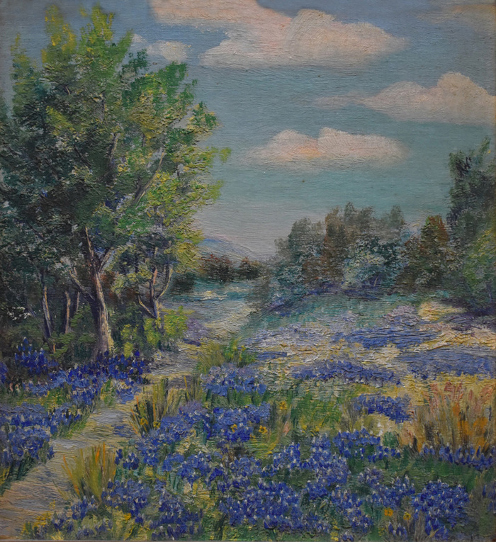 """Bluebonnets Near Spofford"""