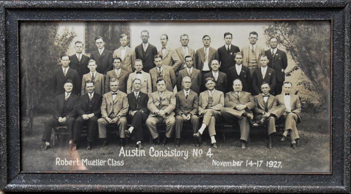 """""""Austin Consistory No. 4. Robert Mueller Class"""""""