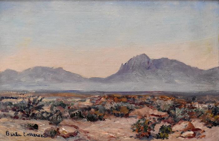 """Desert Near El Paso"""