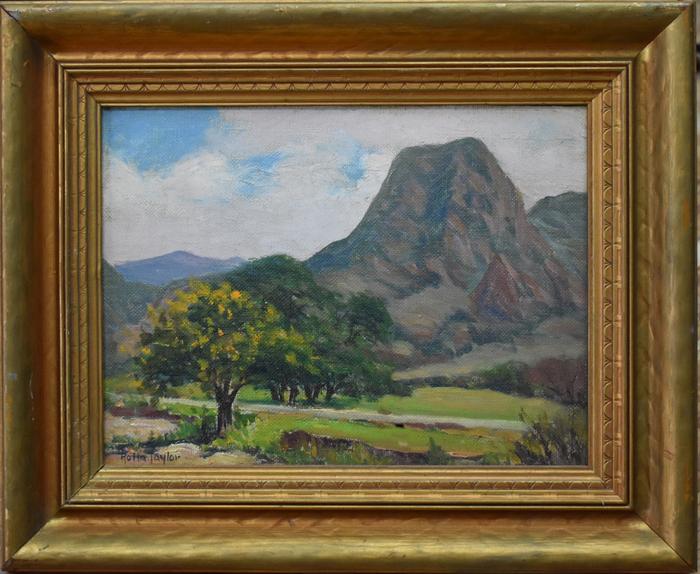 """El Capitan Mountain""  Guadalupe Mountains"