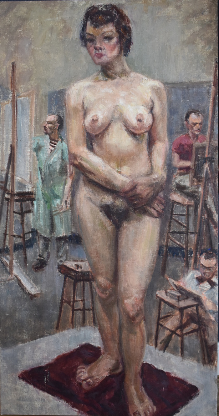 """Nude With Art Students"""