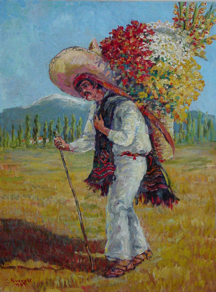 Mexican Flower Merchant