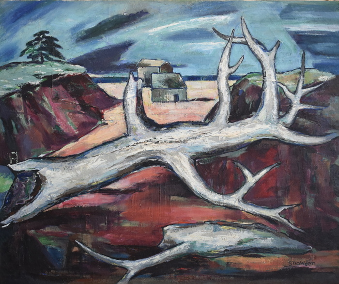 """Dead Wood""  Mid Century Modern"