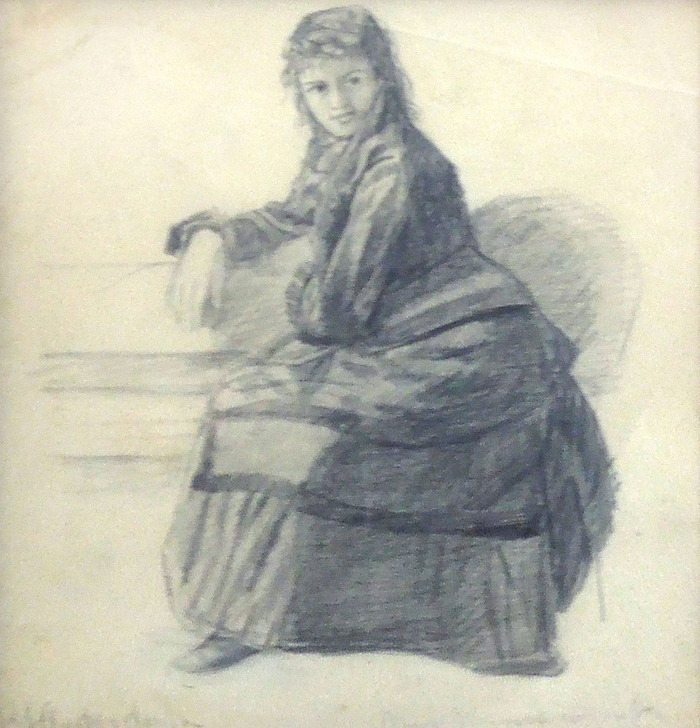 Portrait of Mrs. Branscomb