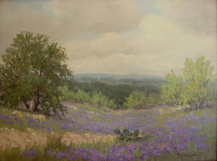 Verbena Landscape