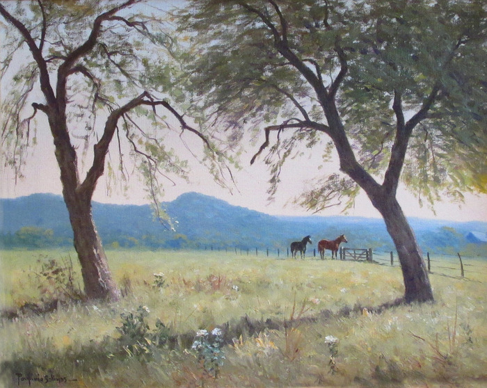 """Horses At The Gate""  Similar one is in Goddard book page 3"
