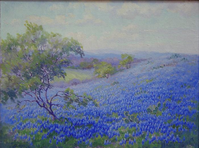 Bluebonnet Oil Paintings For Sale