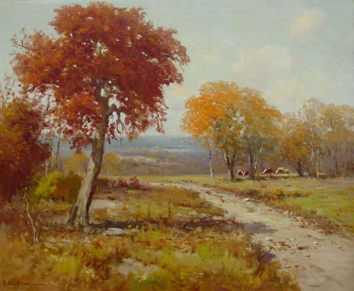 """""""Cattle in Fall"""""""
