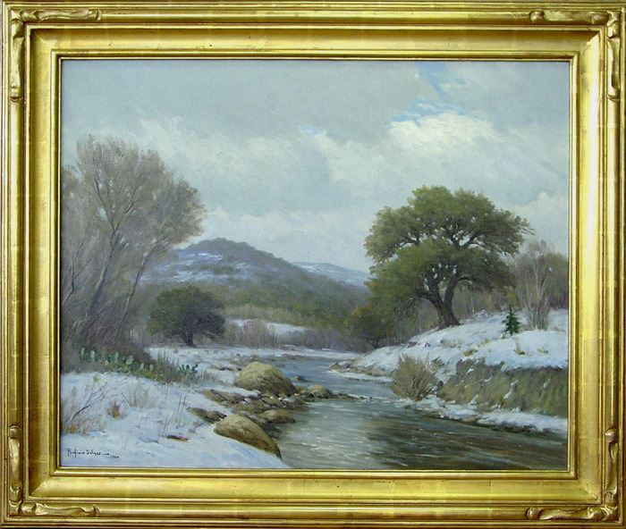 Hill Country Snow 1944