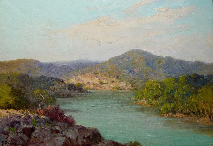 Colorado River Mount Bonnell