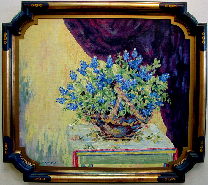Bluebonnet Still Life