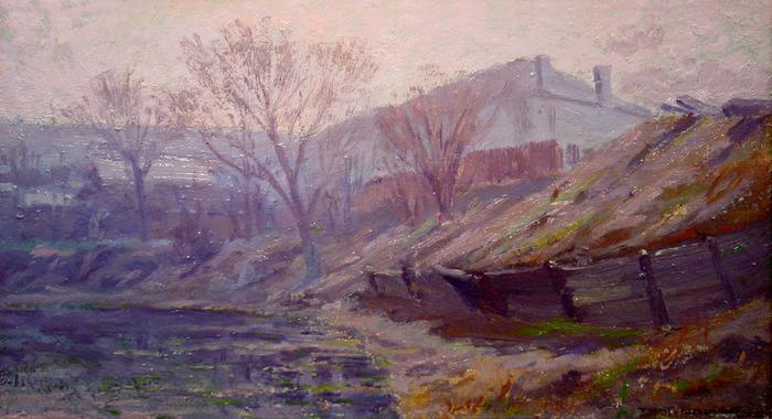 """Along the San Antonio River"""