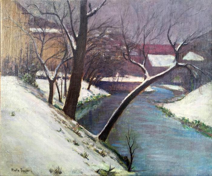 """""""San Antonio River in Snow"""""""
