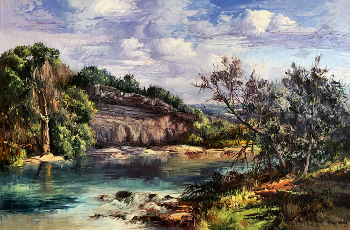 """Guadalupe River"" Texas Hill Country"