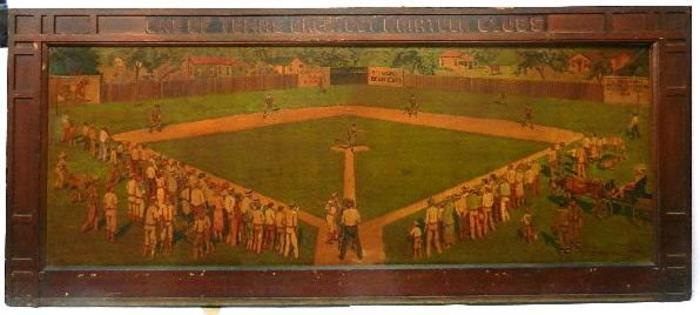 """1916 Houston Texas Amateur Baseball Game"""